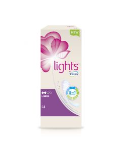 Tena Lights Liners 90ml | Pack of 24