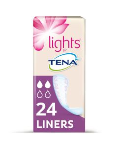 Tena Lights Liners 90ml   Pack of 24