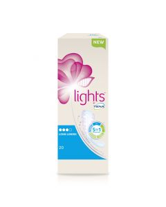 Tena Lights Long Liners 100 | Pack of 20