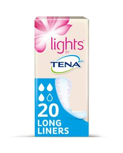 Tena Lights Long Liners 100   Pack of 20