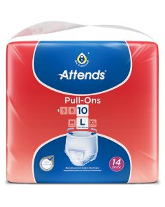 Attends Pull Ons 10 Large | Pack of 14