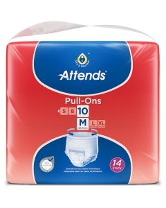 Attends Pull Ons 10 Medium | Pack of 14
