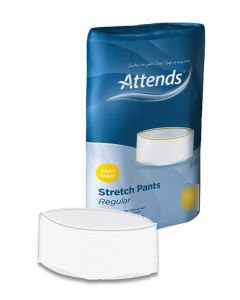 Attends Stretch Pants Regular | Medium | Pack of 15