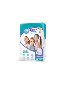 iD Comfy Junior | Age 4-7 | 14 Pack