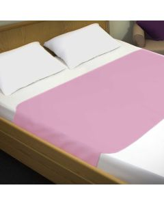 Sonoma Double Bed Pad With Flaps Pink 90x135cm | 4000mls