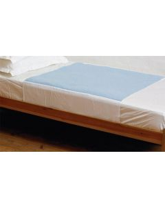 Kylie Washable Double Bed Pad with Wings | 4000mls | 139x91cm | Blue