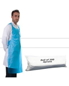 Primacare Disposable Aprons On A Roll White