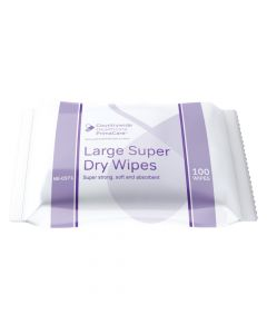 Primacare Large Super Dry Wipes