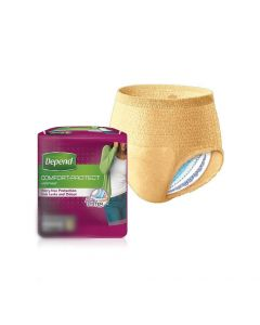 Sample Depend Comfort Protect Women Underwear | Large (One Piece Only)
