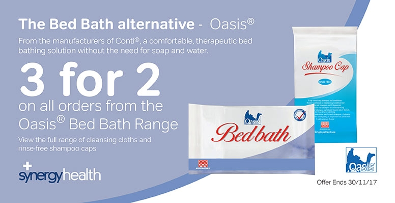 3 for 2 on the Oasis Bed Bath Range